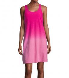 Tommy Bahama Dark Pink Ombre Shift Dress