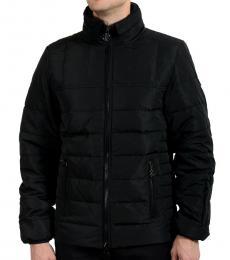 Black Full Zip Parka Jacket