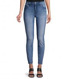 True Religion Blue Jennie Curvy Skinny Ankle Jeans