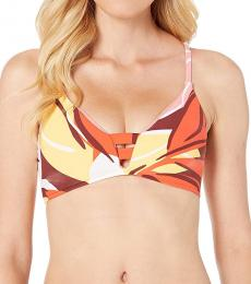 Sea Folly Tanqelo Strap Bralette Bikini Top