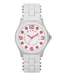 Marc Jacobs White Pelly Watch