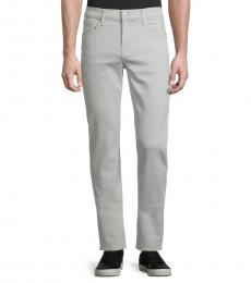 7 For All Mankind Pebble Slimmy Straight-Leg Jeans