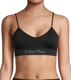 Calvin Klein Black Logo Stretch Bralette