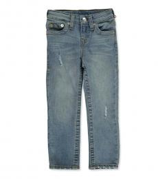 True Religion Little Boys Denim Blue 5-Pocket Jeans