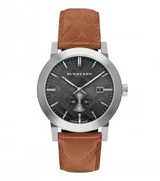 Burberry Brown Black Dial Watch