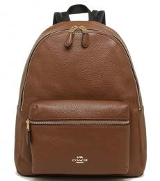 Coach Saddle Charlie Large Backpack