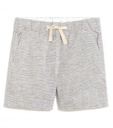 J.Crew Boys Linen Horizontal Stripe Short