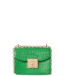Ralph Lauren Emerald Beckett Mini Shoulder Bag