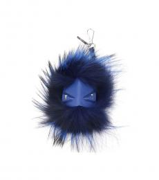 Fendi Dark Blue Monster Bug Key Holder