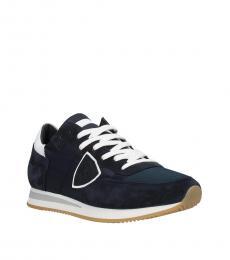 Blue Denim Tropez Sneakers