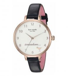 Kate Spade Blue Leather Watch