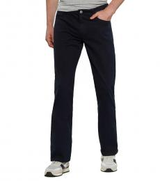 AG Adriano Goldschmied Navy Prot�g� Straight Leg Jeans
