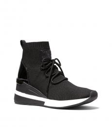 Michael Kors Black Skyler Sock Sneakers