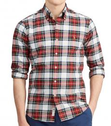Ralph Lauren Multi Classic Fit Plaid Oxford Shirt