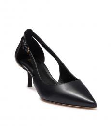 Black Lorene Mid Heels