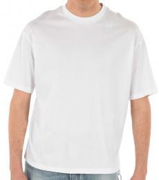 Diesel White Round Necked T-Shirt