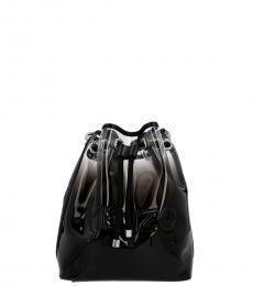 Kenzo Black Degrade Small Bucket Bag