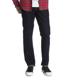 7 For All Mankind Navy Blue Slimmy Jeans