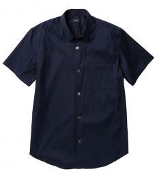 Navy Blue Rammy Short Sleeve Shirt