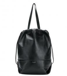 Saint Laurent Black Harlem Medium Bucket Bag
