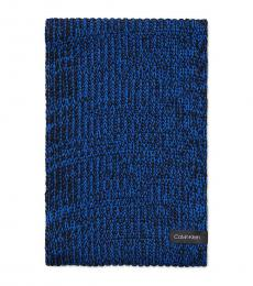 Calvin Klein Montana Sky Chunky Knit Marled Loop Scarf