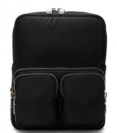 Prada Black Dual Pocket Medium Backpack