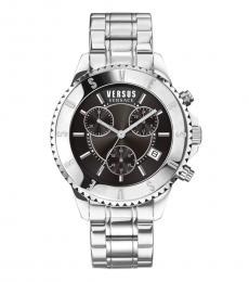 Versus Versace Silver Chronograph Watch