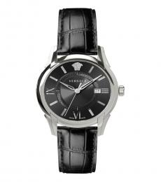 Versace Black Gent  Black Dial Watch