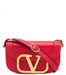 Valentino Garavani Red Supervee Medium Crossbody