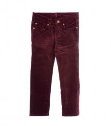 Little Girls Cherry Corduroy Jeans