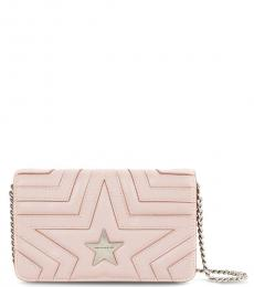 Stella McCartney Light Pink Star Mini Shoulder Bag