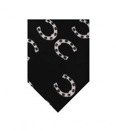 Black Horseshoe Classic Tie