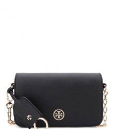 Tory Burch Black Robinson Small Crossbody