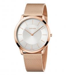 Rose Gold Radiant Minimal Watch