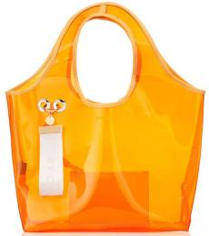 Orange Jay Large Tote
