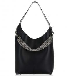 Black Genesis Box Chain Large Hobo