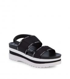 Black Nola Platform Sandals