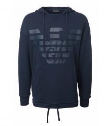 Emporio Armani Dark Blue Logo Sweatshirt
