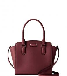 Kate Spade Cherrywood Jeanne Medium Satchel
