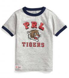Little Boys Andover Heather PRL Tigers T-Shirt