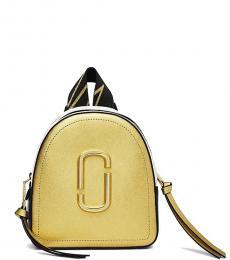 Marc Jacobs Gold Pack Shot Mini Backpack