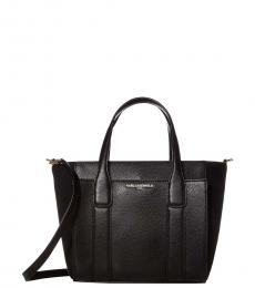 Karl Lagerfeld Black/Gold Cassandra Mini Satchel