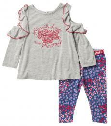 BCBGirls 2 Piece Top/Leggings Set (Baby Girls)
