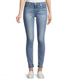 True Religion Blue Halle Big T Super Skinny Jeans