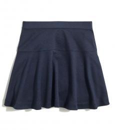 J.Crew Girls Navy Ponte Skirt