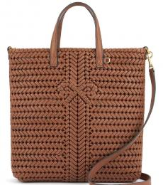 Anya Hindmarch Brown Neeson Tall Large Tote