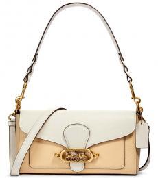 Coach Cream Multi Jade Medium Shoulder Bag