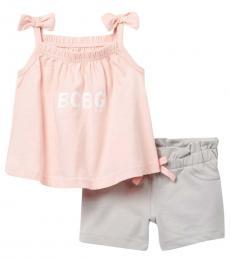 BCBGirls 2 Piece Tank/Shorts Set (Baby Girls)