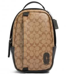 Coach Tan Edge Large Backpack