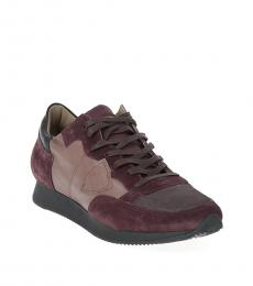 Philippe Model Brown Leather Tropez Sneakers